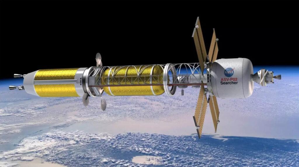 DARPA otorga contratos de naves espaciales nucleares